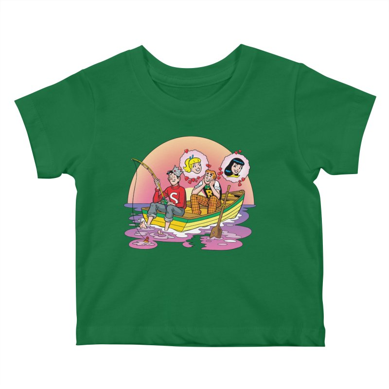 Rowboat Kids Baby T-Shirt by Archie Comics