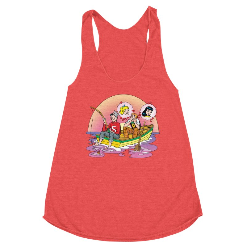 Rowboat Women's Tank by Archie Comics