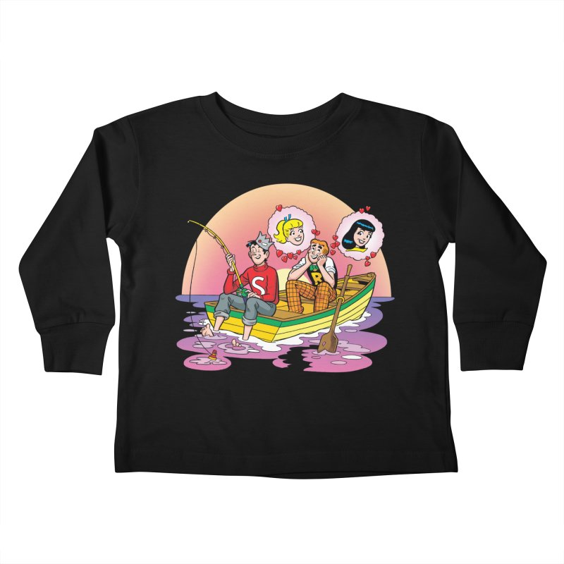 Rowboat Kids Toddler Longsleeve T-Shirt by Archie Comics