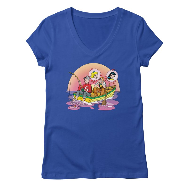 Rowboat Women's V-Neck by Archie Comics