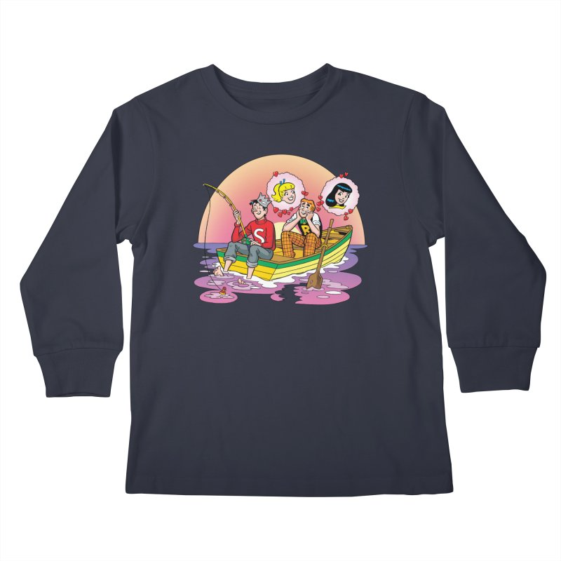 Rowboat Kids Longsleeve T-Shirt by Archie Comics