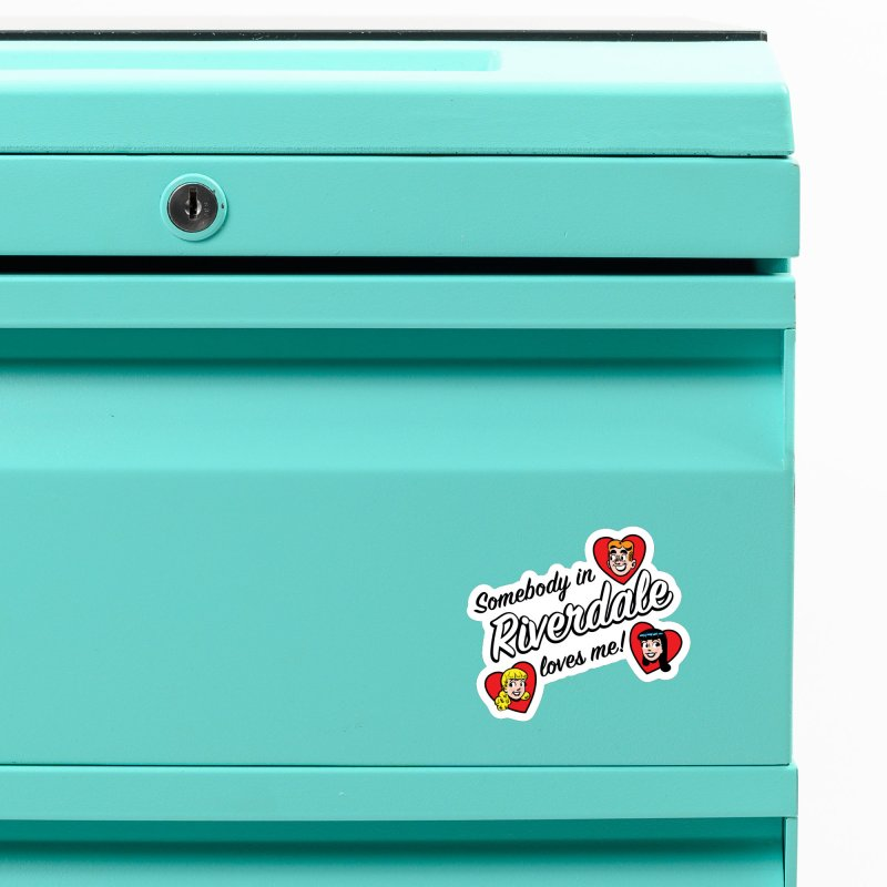 Somebody In Riverdale Loves Me Accessories Magnet by Archie Comics