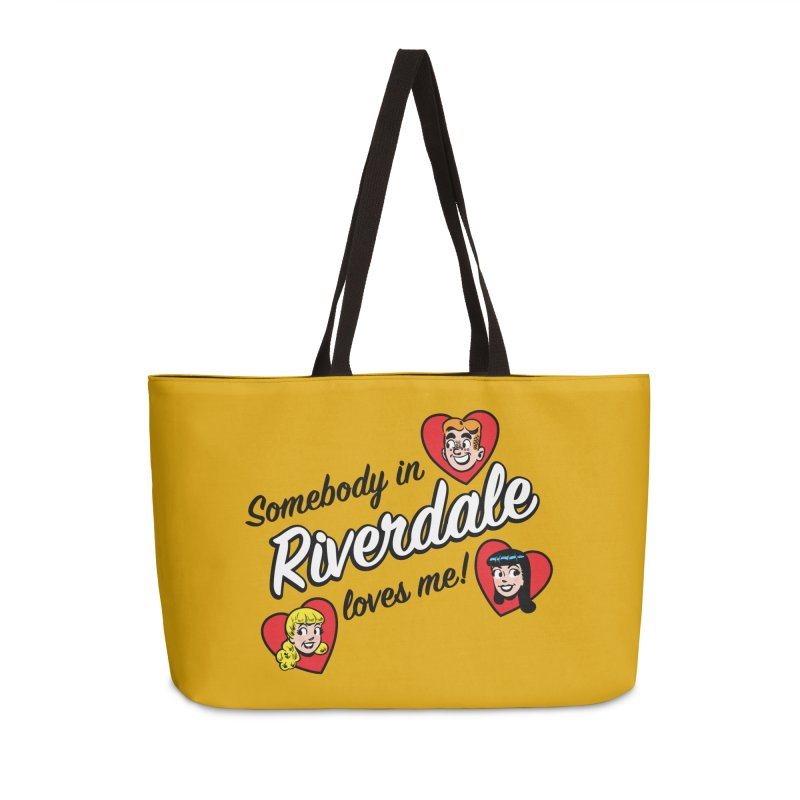 Somebody In Riverdale Loves Me Accessories Bag by Archie Comics