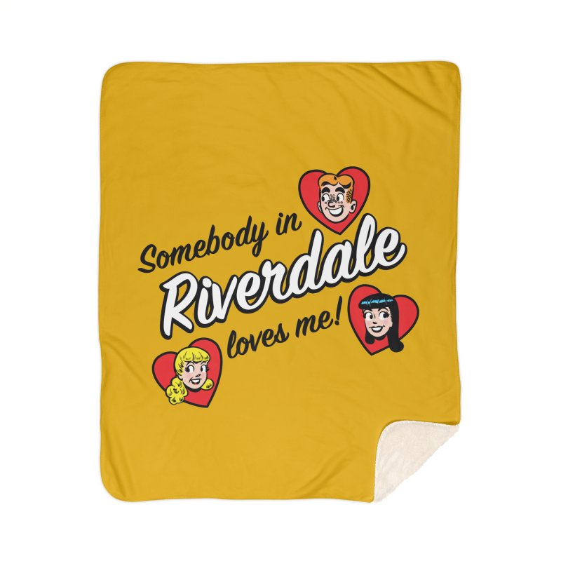 Somebody In Riverdale Loves Me Home Blanket by Archie Comics