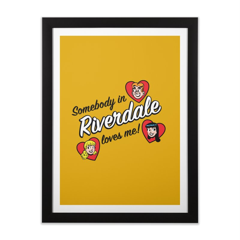 Somebody In Riverdale Loves Me Home Framed Fine Art Print by Archie Comics