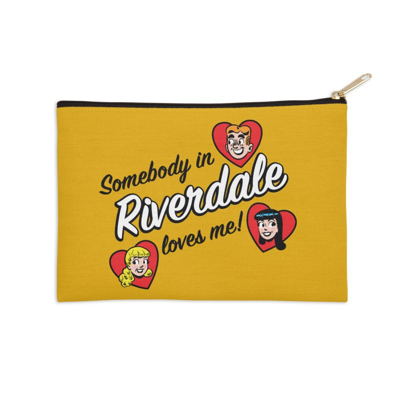 Somebody In Riverdale Loves Me Accessories Zip Pouch by Archie Comics