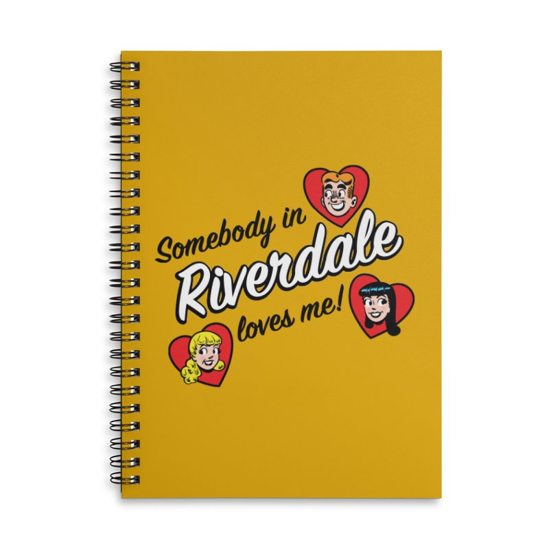 Somebody In Riverdale Loves Me Accessories Notebook by Archie Comics