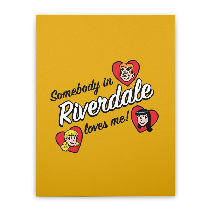 Somebody In Riverdale Loves Me Home Stretched Canvas by Archie Comics