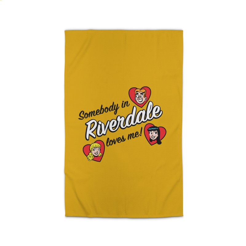Somebody In Riverdale Loves Me Home Rug by Archie Comics