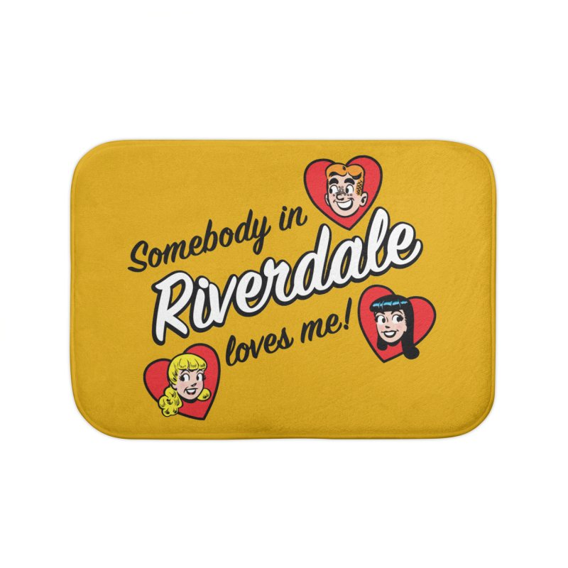 Somebody In Riverdale Loves Me Home Bath Mat by Archie Comics