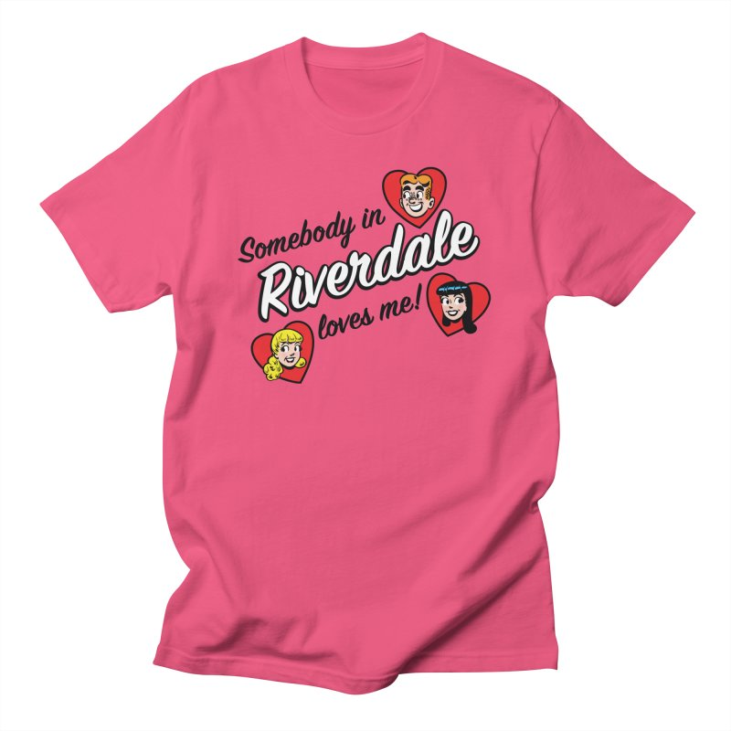 Somebody In Riverdale Loves Me Men's T-Shirt by Archie Comics