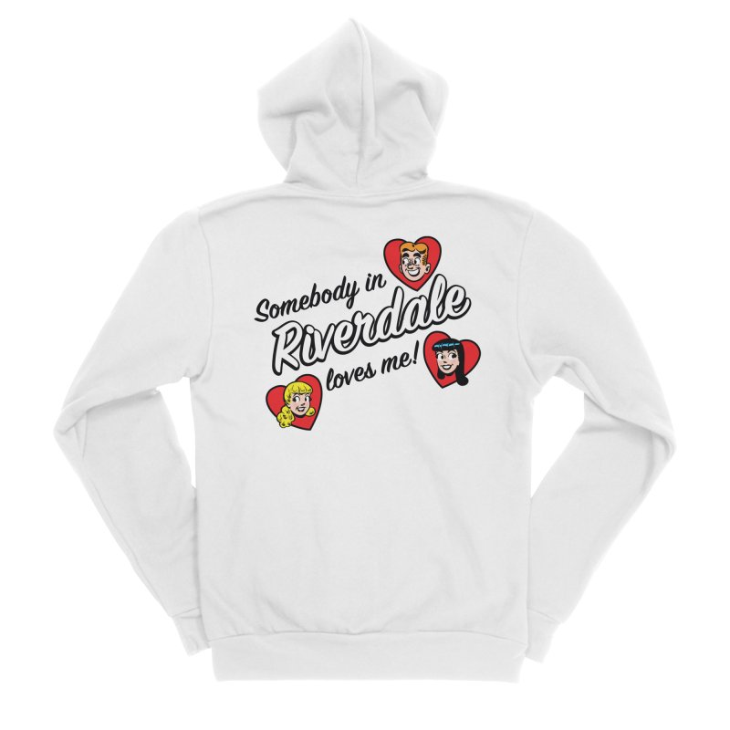 Somebody In Riverdale Loves Me Men's Zip-Up Hoody by Archie Comics