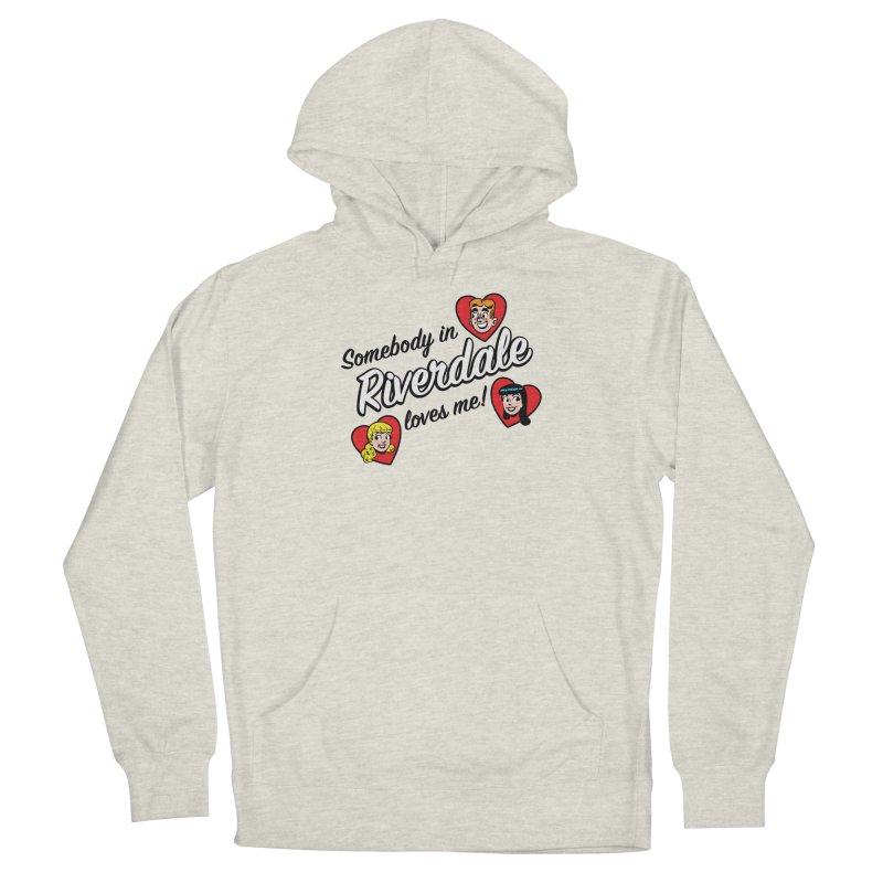 Somebody In Riverdale Loves Me Men's Pullover Hoody by Archie Comics