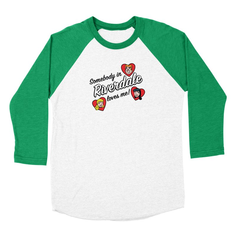 Somebody In Riverdale Loves Me Men's Longsleeve T-Shirt by Archie Comics