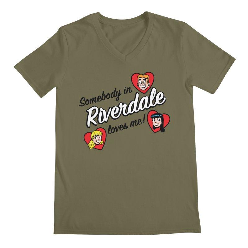Somebody In Riverdale Loves Me Men's V-Neck by Archie Comics