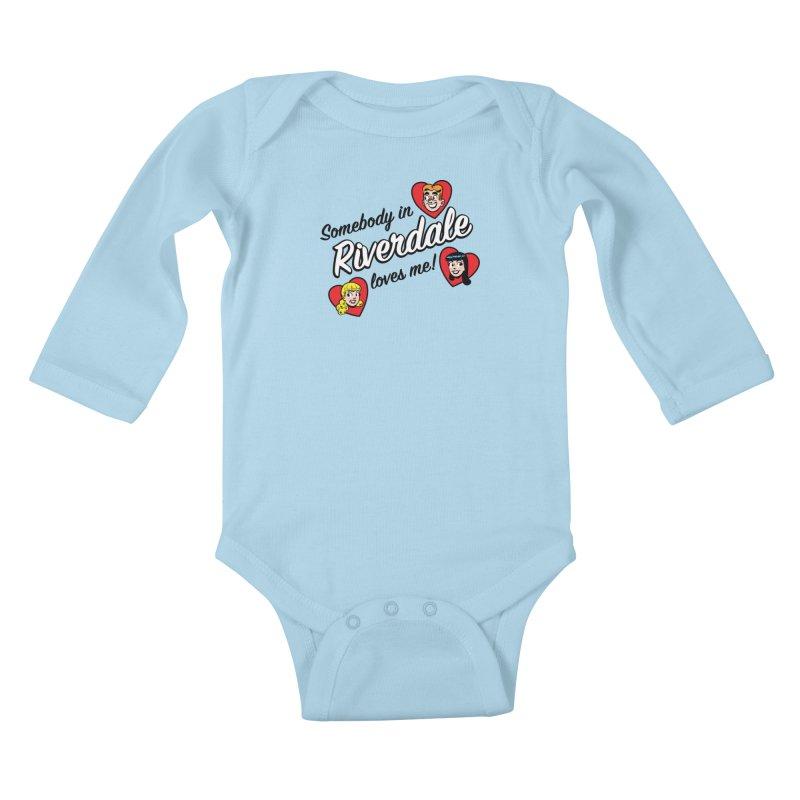 Somebody In Riverdale Loves Me Kids Baby Longsleeve Bodysuit by Archie Comics