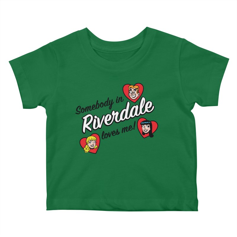Somebody In Riverdale Loves Me Kids Baby T-Shirt by Archie Comics