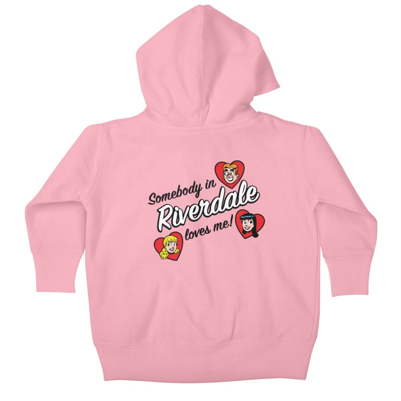 Somebody In Riverdale Loves Me Kids Baby Zip-Up Hoody by Archie Comics