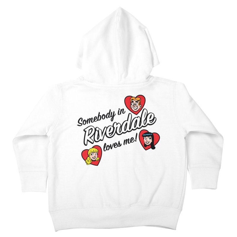 Somebody In Riverdale Loves Me Kids Toddler Zip-Up Hoody by Archie Comics