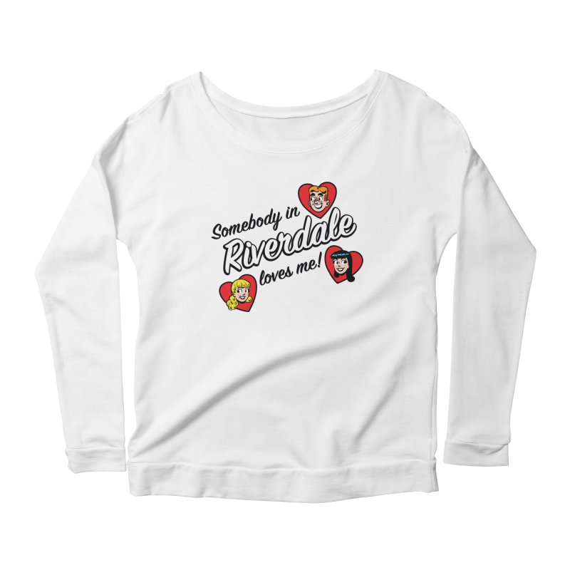 Somebody In Riverdale Loves Me Women's Longsleeve T-Shirt by Archie Comics