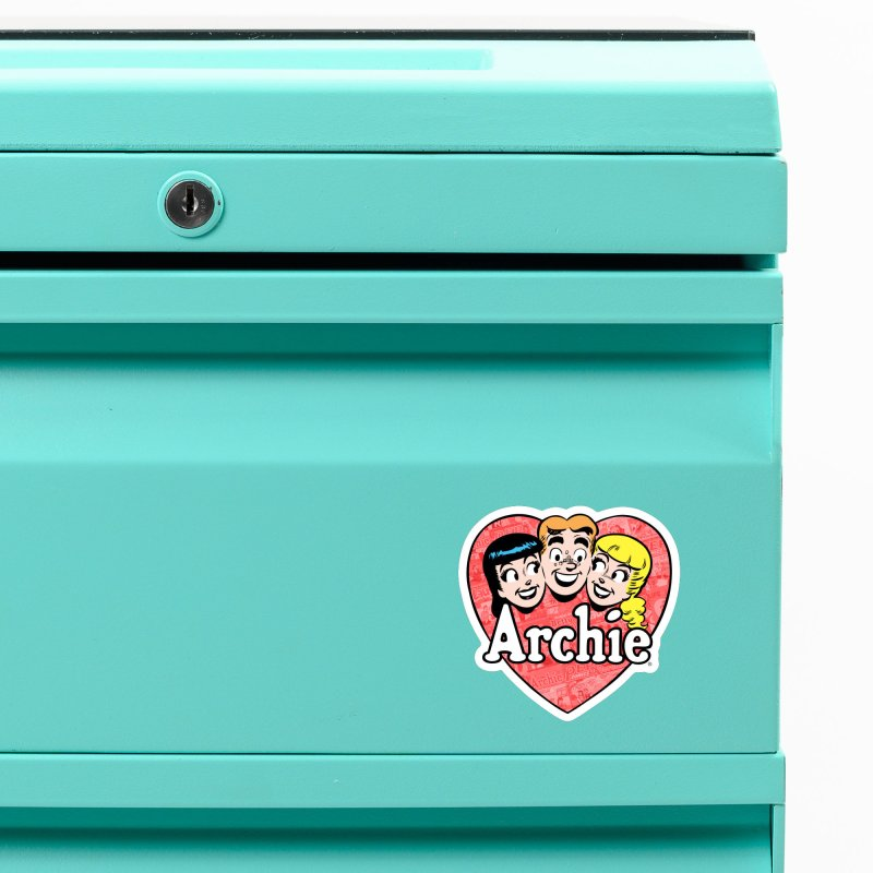 RetroArchieHeart Accessories Magnet by Archie Comics
