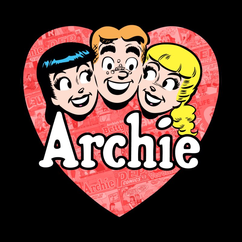 RetroArchieHeart Men's Pullover Hoody by Archie Comics
