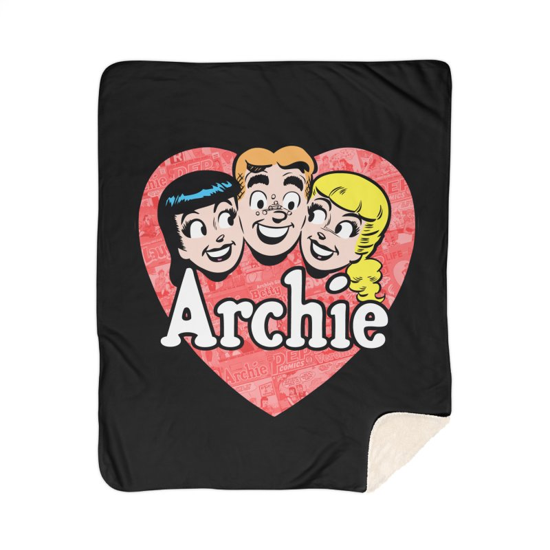 RetroArchieHeart Home Blanket by Archie Comics