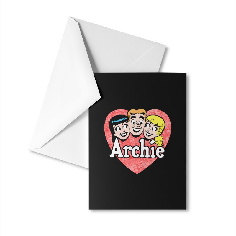 RetroArchieHeart Accessories Greeting Card by Archie Comics