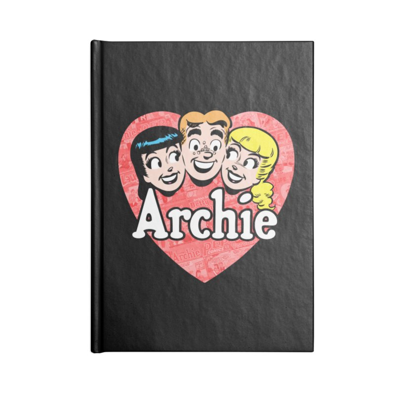 RetroArchieHeart Accessories Notebook by Archie Comics