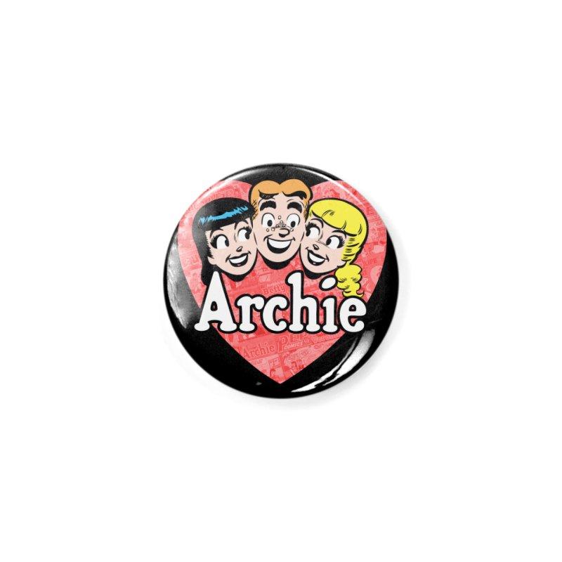 RetroArchieHeart Accessories Button by Archie Comics