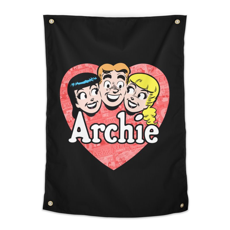 RetroArchieHeart Home Tapestry by Archie Comics