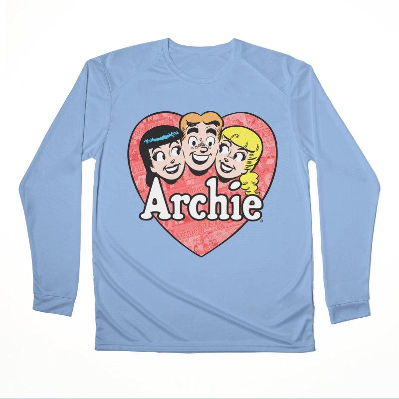 RetroArchieHeart Men's Longsleeve T-Shirt by Archie Comics