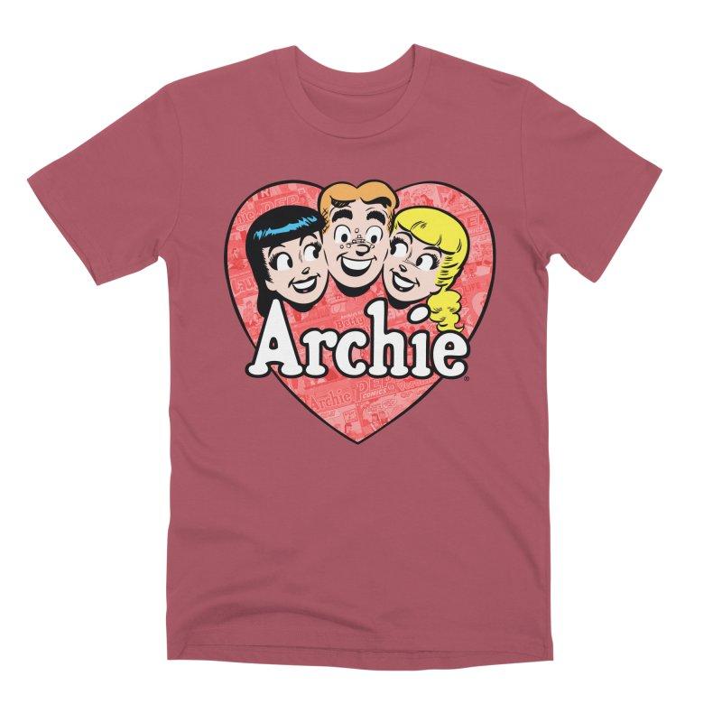 RetroArchieHeart Men's T-Shirt by Archie Comics
