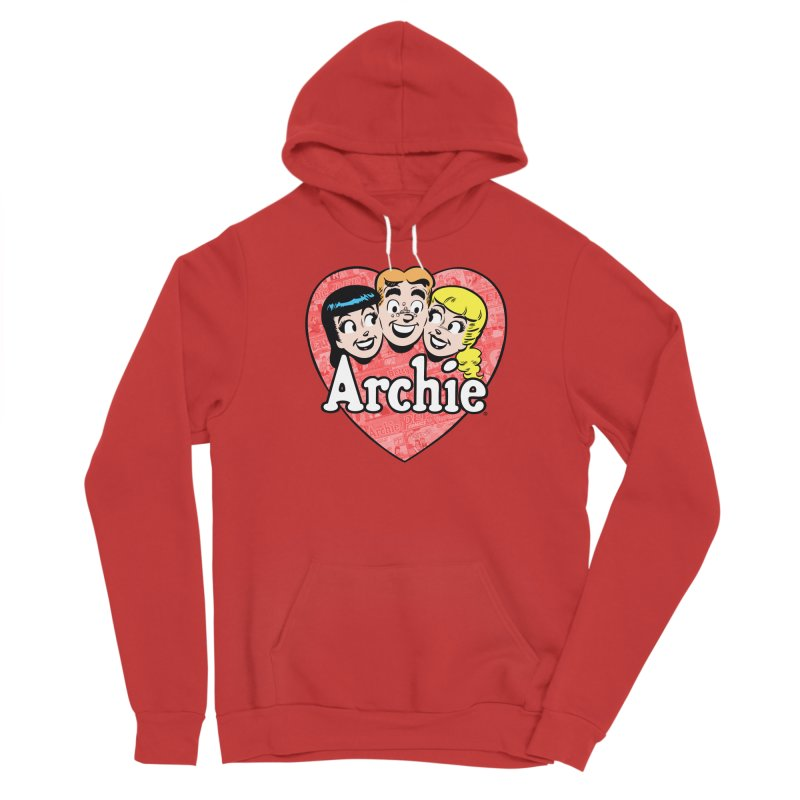RetroArchieHeart Women's Pullover Hoody by Archie Comics
