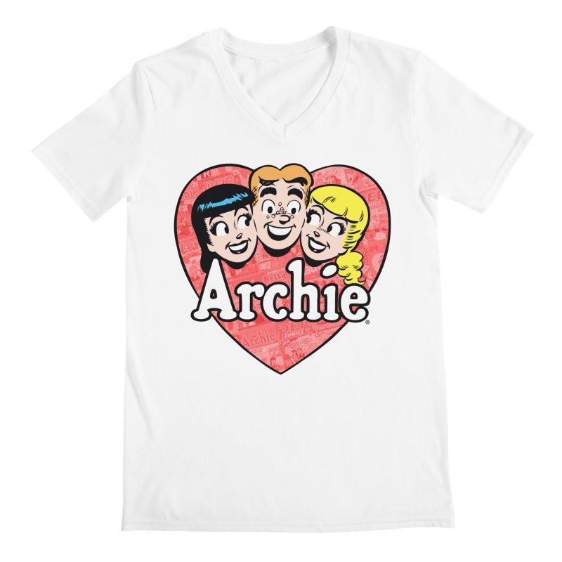 RetroArchieHeart Men's V-Neck by Archie Comics
