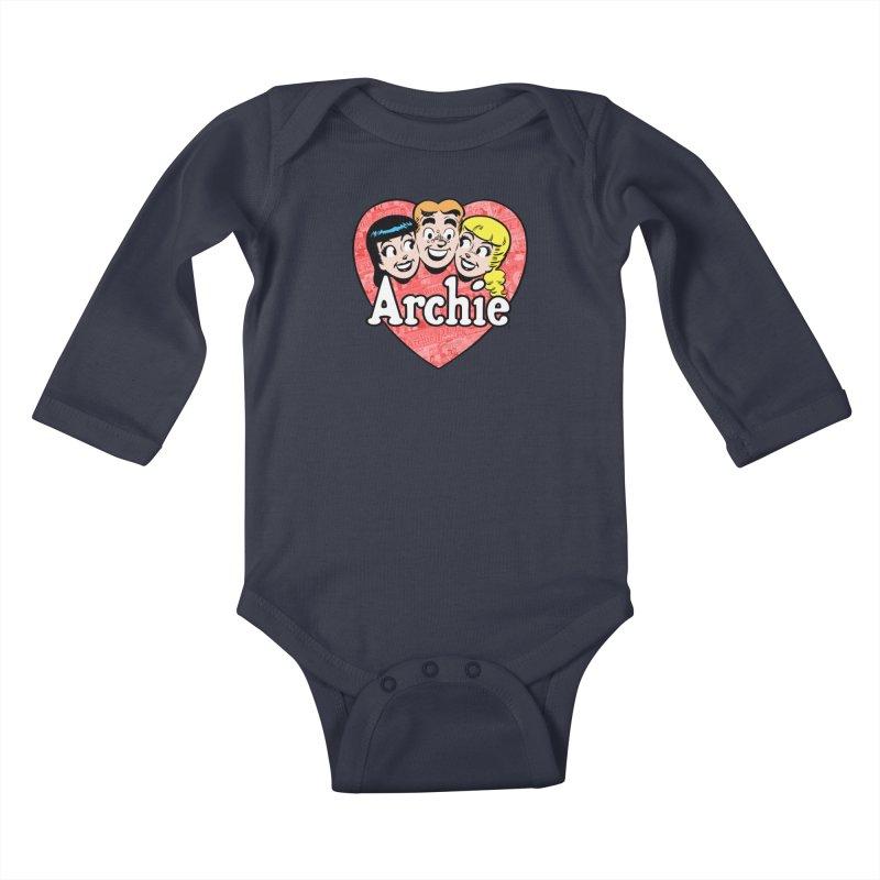 RetroArchieHeart Kids Baby Longsleeve Bodysuit by Archie Comics