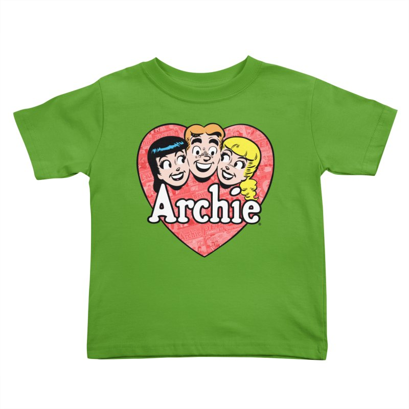 RetroArchieHeart Kids Toddler T-Shirt by Archie Comics