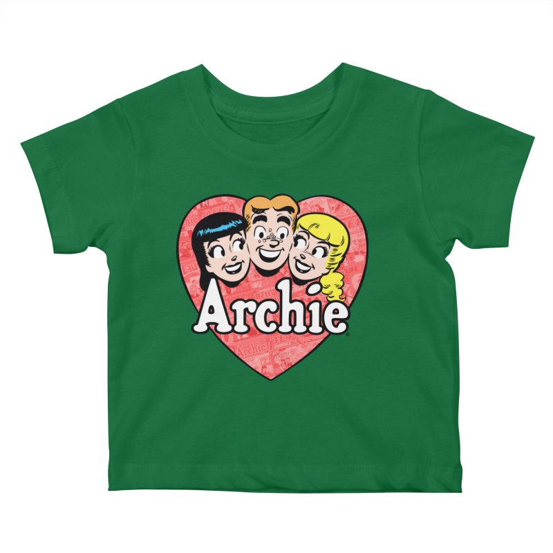RetroArchieHeart Kids Baby T-Shirt by Archie Comics