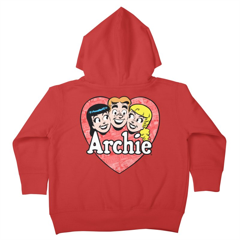 RetroArchieHeart Kids Toddler Zip-Up Hoody by Archie Comics