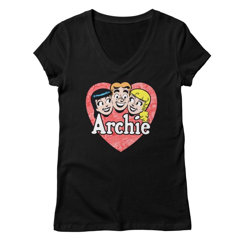 RetroArchieHeart Women's V-Neck by Archie Comics