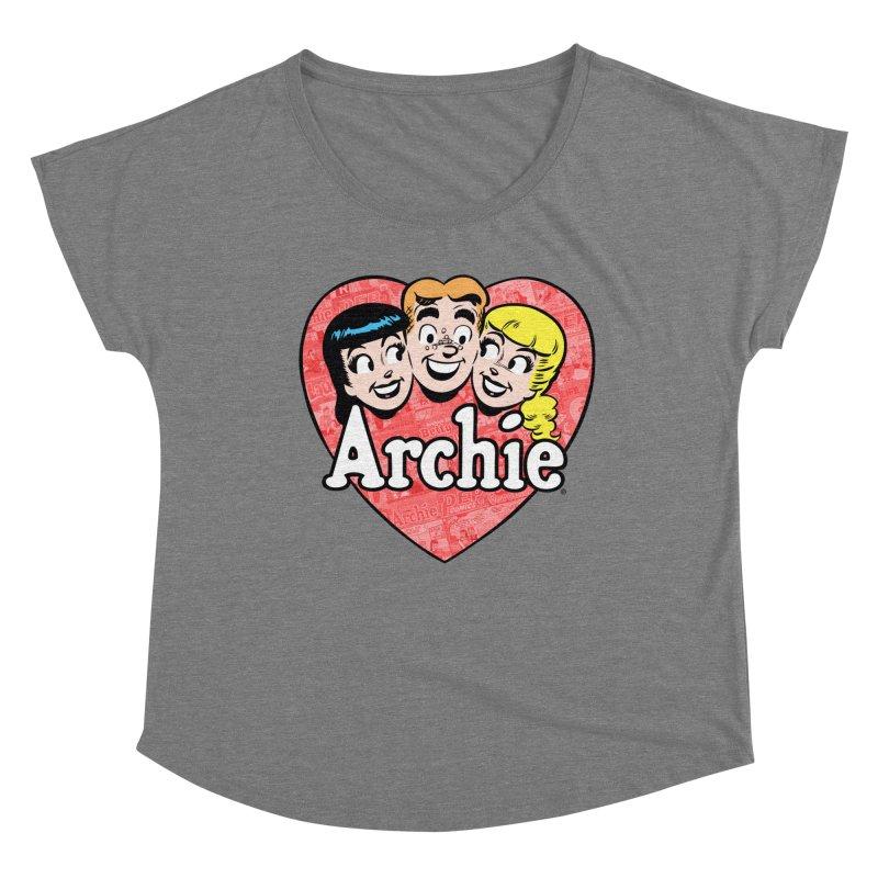 RetroArchieHeart Women's Scoop Neck by Archie Comics