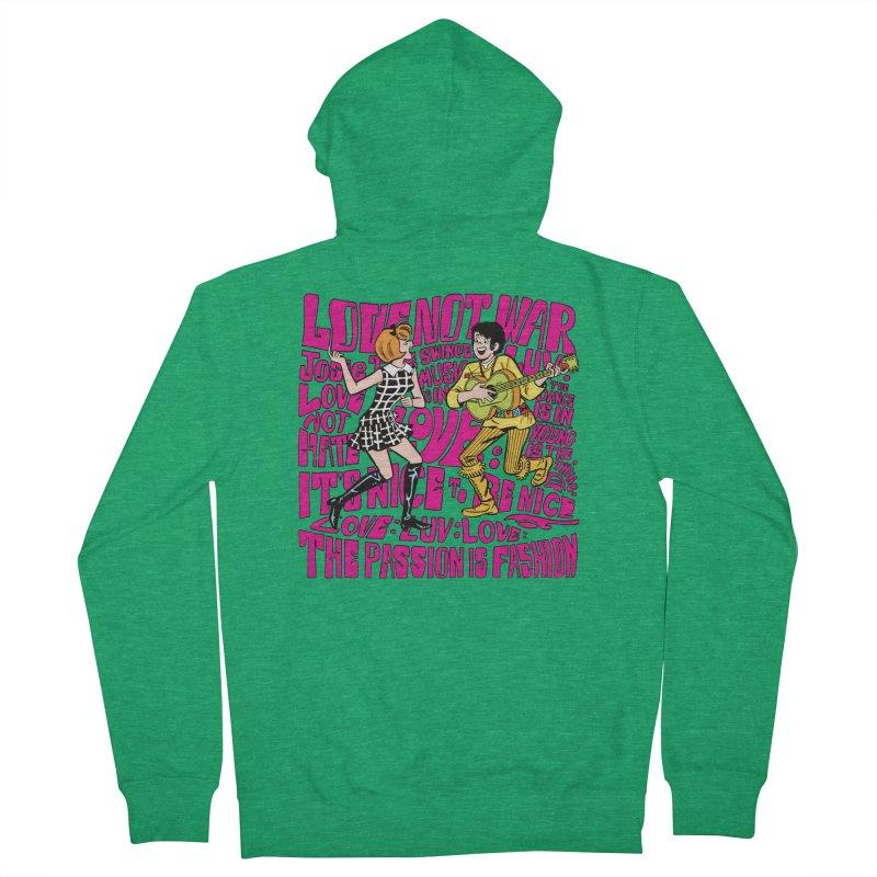 Josie Love Men's Zip-Up Hoody by Archie Comics