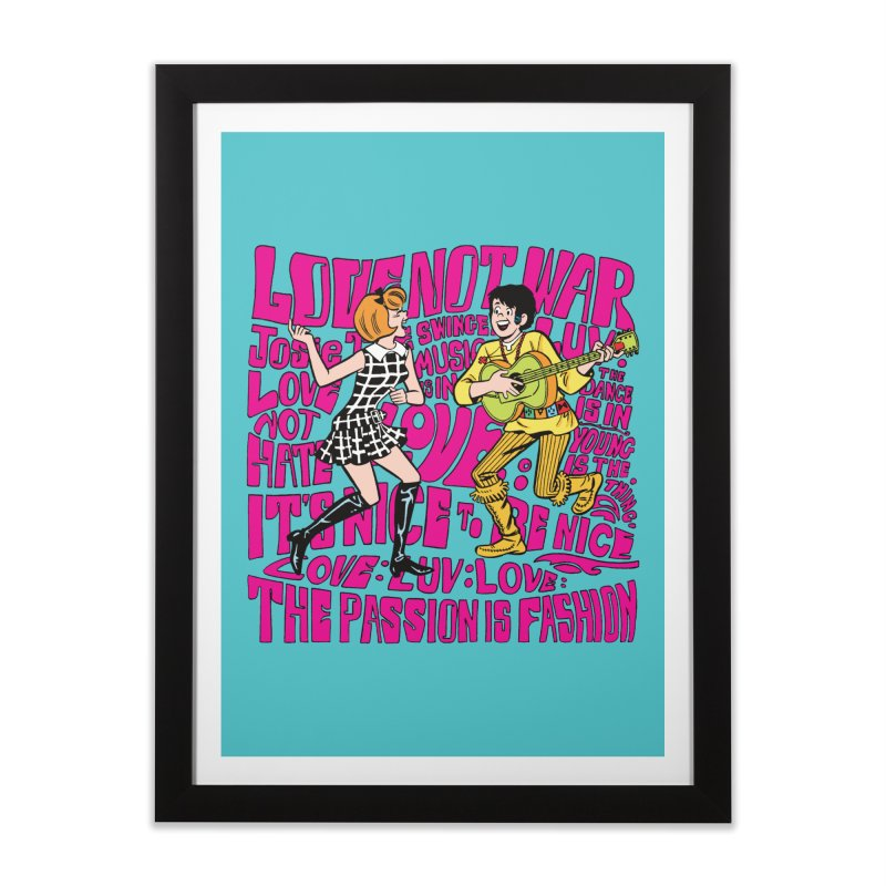 Josie Love Home Framed Fine Art Print by Archie Comics