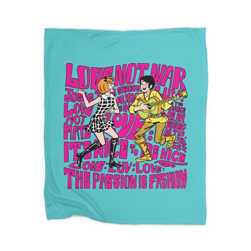 Josie Love Home Blanket by Archie Comics