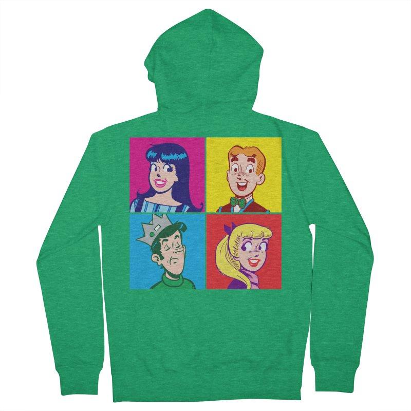 Pop Art Archie Women's Zip-Up Hoody by Archie Comics