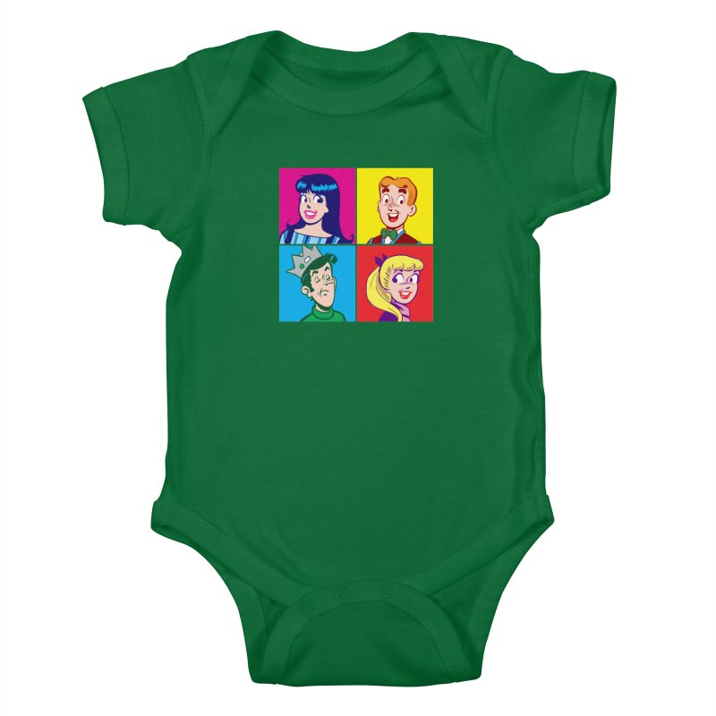 Pop Art Archie Kids Baby Bodysuit by Archie Comics