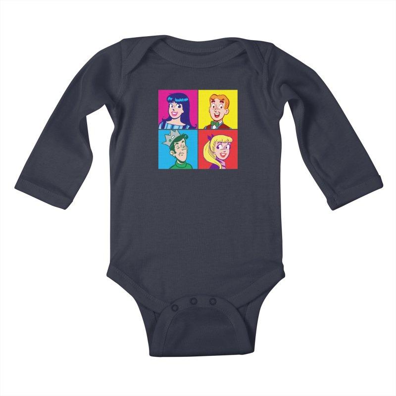 Pop Art Archie Kids Baby Longsleeve Bodysuit by Archie Comics