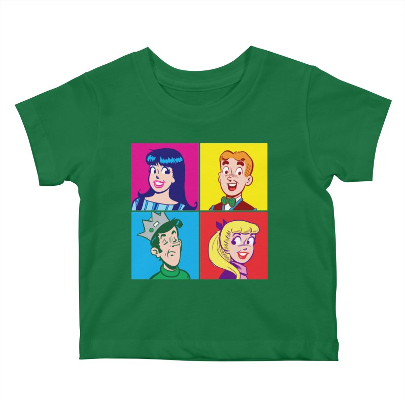 Pop Art Archie Kids Baby T-Shirt by Archie Comics