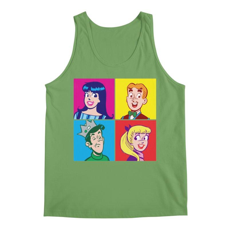 Pop Art Archie Men's Tank by Archie Comics