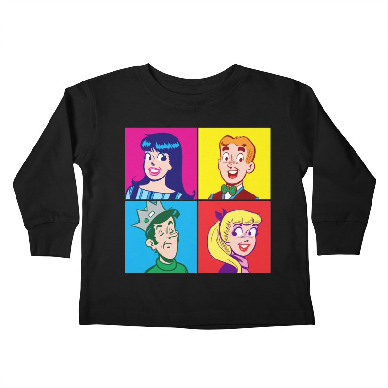 Pop Art Archie Kids Toddler Longsleeve T-Shirt by Archie Comics